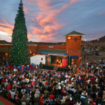 5000 people come out to watch Dream Masterz Magic of Christmas Show at the Outlets in Castle Rock, CO