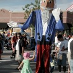 Interactive Giant Nutcracker Puppet