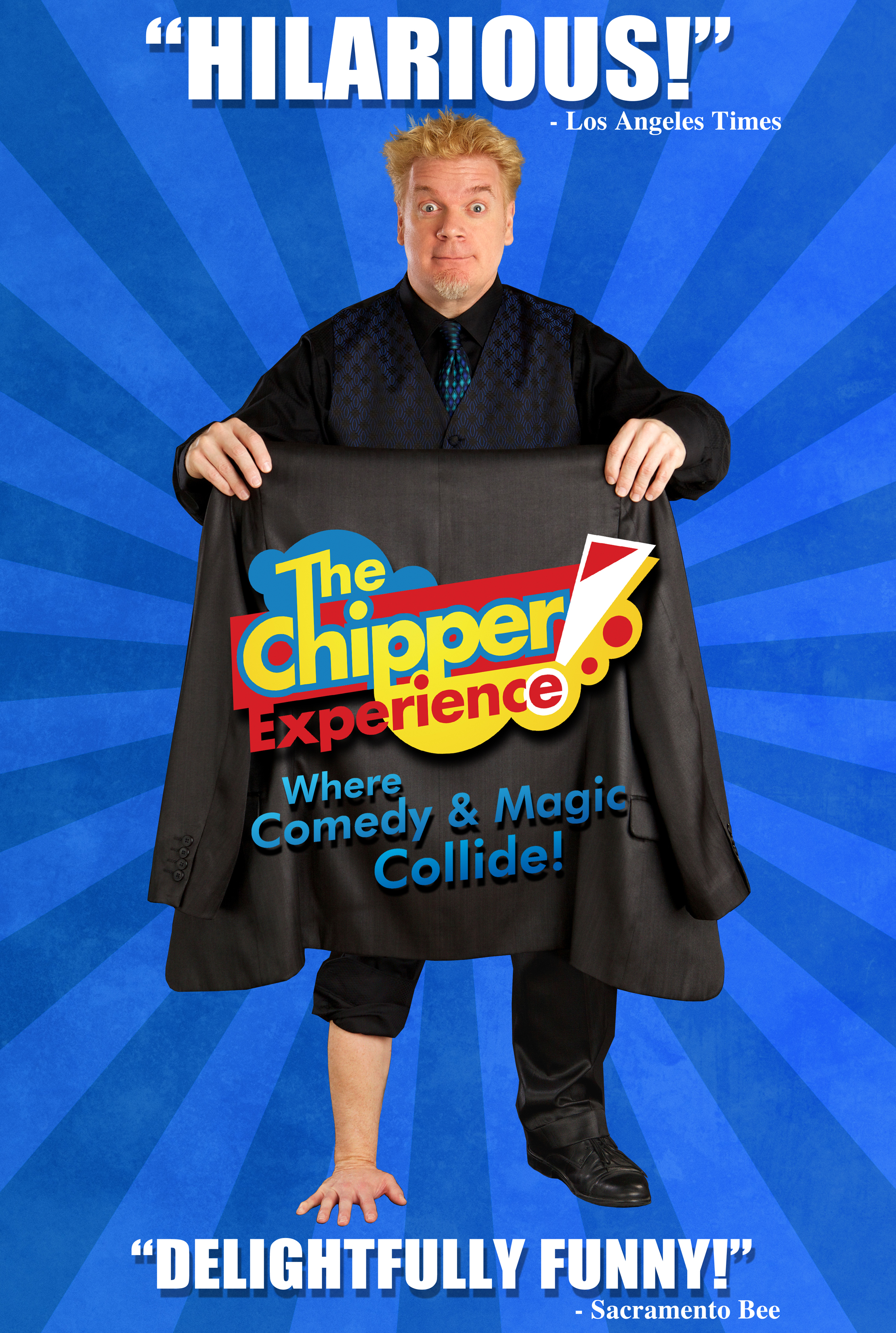 Chipper Lowell - COMEDY & MAGIC COLLIDE ! HILARIOUS SHOW NOT TO BE MISSED!