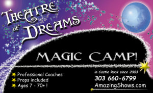First Wizard Camp Session! @ Theatre of Dreams | Castle Rock | Colorado | United States