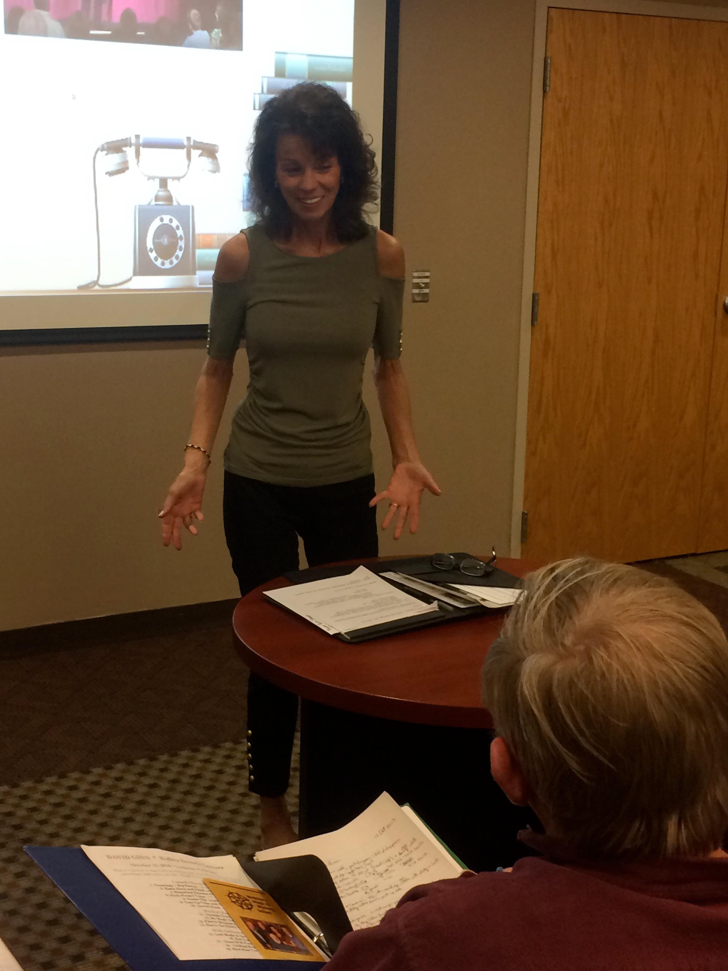 Carol Massie and Joe Givan lecture in Omaha