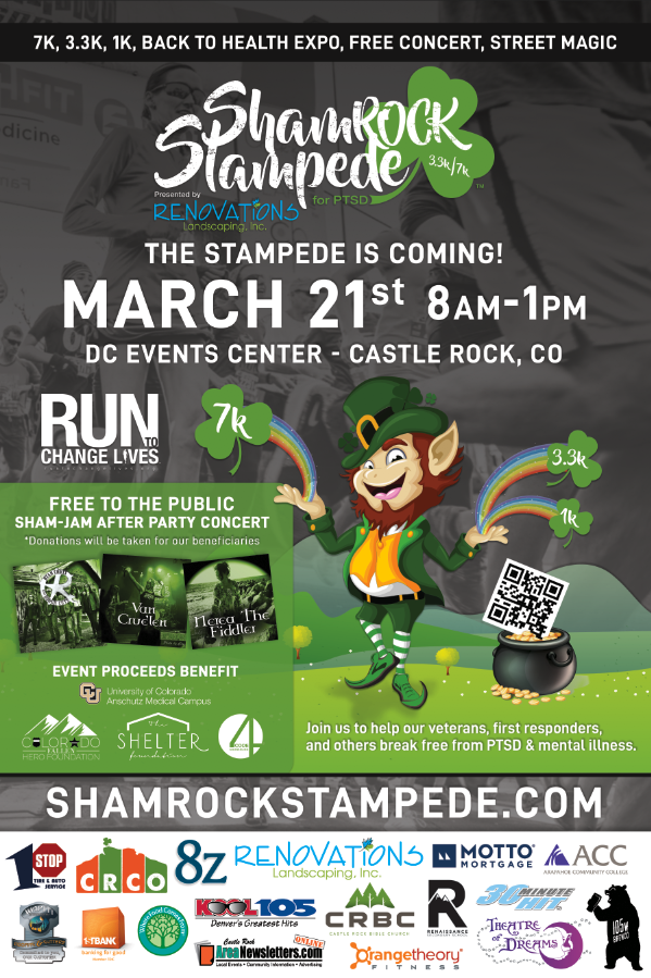 ShamROCK Stampede with performances by Theatre of Dreams! @ DC Event Center